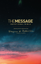 THE MESSAGE DEVOTIONAL BIBLE HB