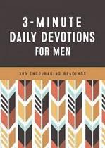 3 MINUTE DAILY DEVOLTIONS FOR MEN