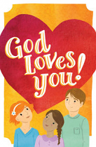 GOD LOVES YOU TRACT PACK OF 25