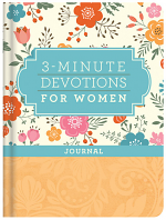 3 MINUTE DEVOTIONS FOR WOMEN JOURNAL
