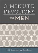 3 MINUTE DEVOTIONS FOR MEN