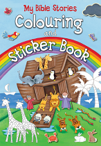 MY BIBLE STORIES COLOURING AND STICKER BOOK