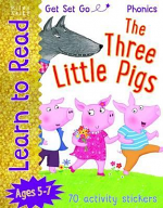 LEARN TO READ THREE LITTLE PIGS