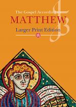 JB GOSPEL ACCORDING TO MATTHEW LARGER PRINT