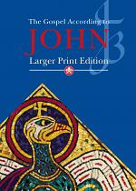 JB GOSPEL ACCORDING TO JOHN LARGER PRINT