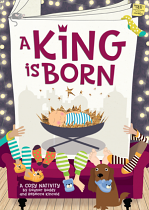 A KING IS BORN BOOK & CD
