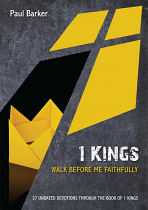 1 KINGS WALK BEFORE ME FAITHFUL