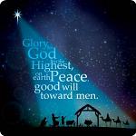 STARLIGHT CHRISTMAS COASTER