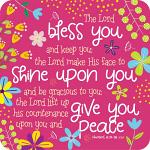 BLESS YOU COASTER