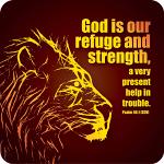 GOD IS OUR REFUGE COASTER