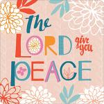 GIVE YOU PEACE COASTER