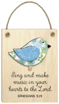 CHIRPS PLAQUE SING AND MAKE MUSIC