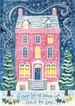 HANNAH DUNNETT COMFORT AND JOY CHRISTMAS CARD