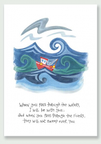 I WILL BE WITH YOU HANNAH DUNNETT PRINT