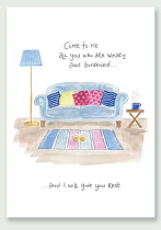 I WILL GIVE YOU REST HANNAH DUNNETT PRINT