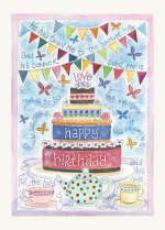 HANNAH DUNNETT CARD BIRTHDAY CAKE