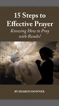 15 STEPS TO EFFECTIVE PRAYER