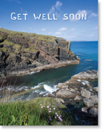 GET WELL PETITE CARD