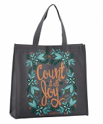 COUNT IT ALL JOY TOTE BAG