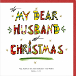 HUSBAND CHRISTMAS CARD
