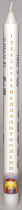 ADVENT CANDLE 10 x 7/8 WHITE NAMES OF JESUS