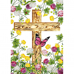 HE IS RISEN CROSS PACK OF 4