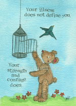 STRENGTH AND COURAGE CARD