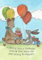 BIRTHDAY JOY CARD