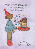 EXTRA SPECIAL BIRTHDAY CARD