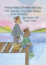 PEACE AND COMFORT CARD