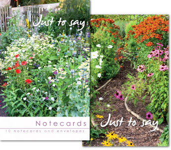 COTTAGE GARDEN JUST TO SAY NOTELETS PACK OF 10
