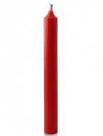 1/2 X 4 1/2 INCH RED CHRISTINGLE CANDLE