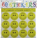 60 SMILE JESUS LOVES YOU STICKERS