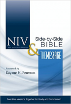 NIV MESSAGE PARALELL BIBLE HB