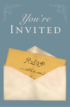 YOU'RE INVITED TRACT PACK OF 25