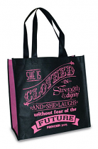 CLOTHED IN STRENGTH TOTE BAG