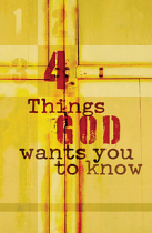 4 THINGS GOD WANTS YOU TO KNOW ESV TRACT PACK OF 25