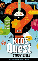 NIRV KIDS QUEST STUDY BIBLE HB