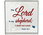 3X3 MY SHEPHERD GLASS BLOCK