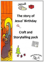 STORY OF JESUS BIRTHDAY CRAFT PACK