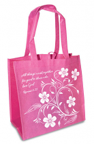 ALL THINGS WORK TOGETHER TOTE BAG