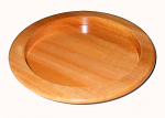 BREAD PLATE 12 INCH NATURAL
