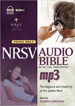 NRSV AUDIO BIBLE MP3 CD